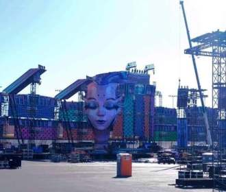Leaked EDC Vegas 2019 – Stages Under Construction