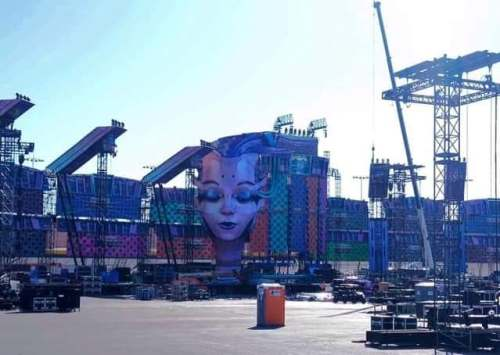 EDC Stages under construction leaked images