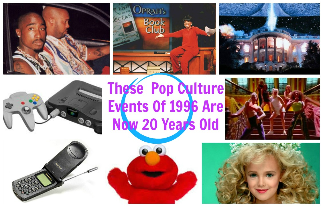 Welcome To 2016! These 1996 Pop Culture Moments Are Now 20