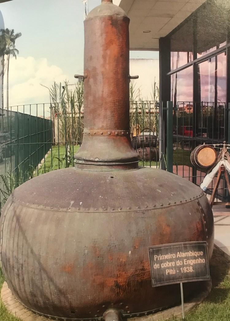 Alambique do início do século XX