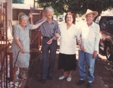 Nossa mãe R. Luiza e seus irmãos