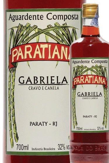 Paraty - aguardente composto Cravo e Canela