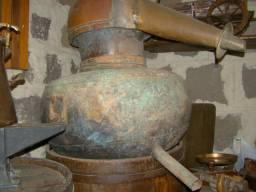 Alambique cobre