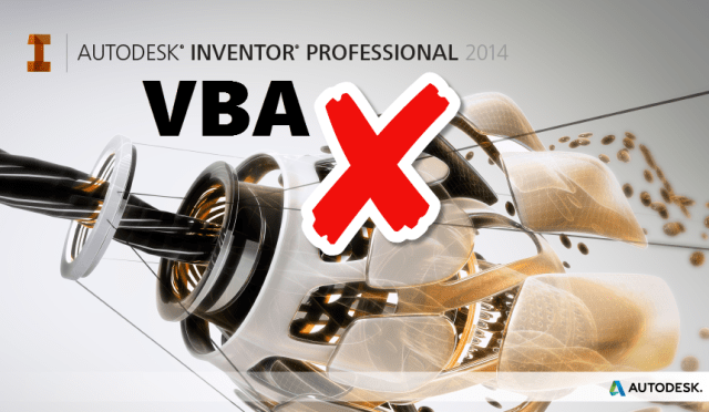 VBA not working in Inventor 2014