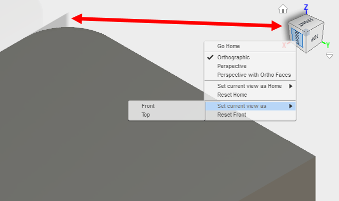 Fusion 360 Tips – Set Current View As