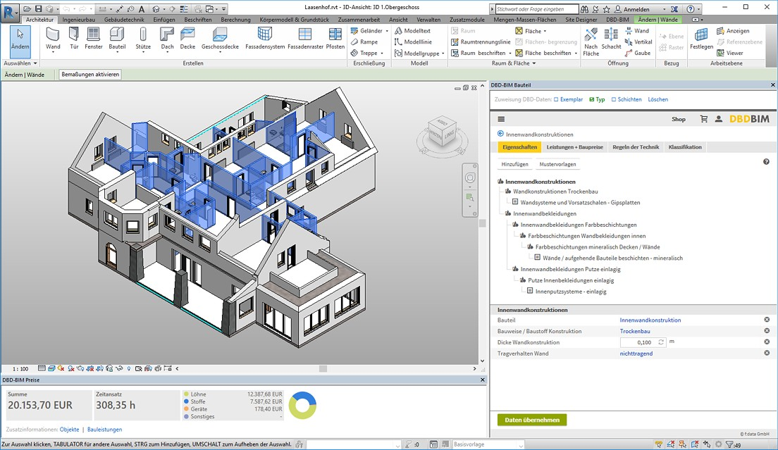 DBD-BIM Überblick - Autodesk Revit