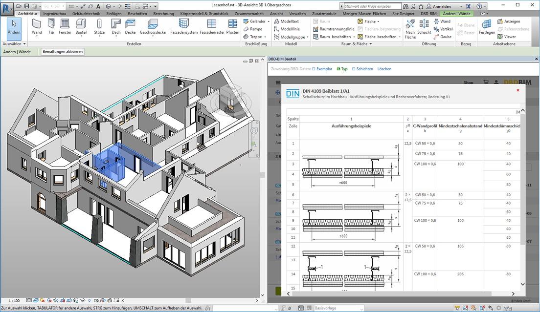 DBD-BIM Überblick - Autodesk Revit - DIN