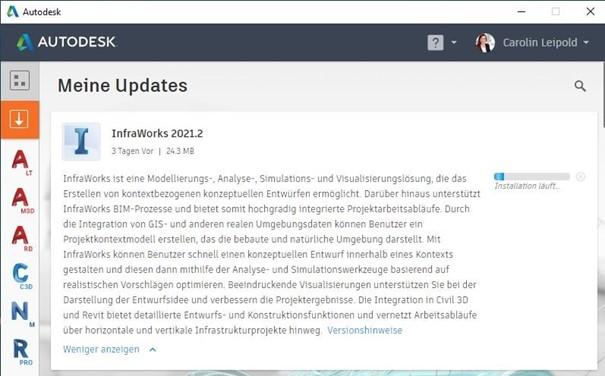 InfraWorks 2021.2
