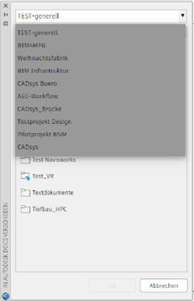 Autodesk Docs Extions for AutoCAD