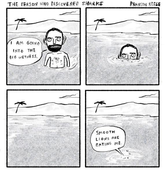 Shark comic