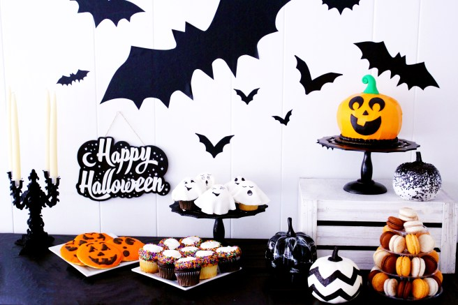 Halloween dessert party from french bakery cafe pierrot in nj