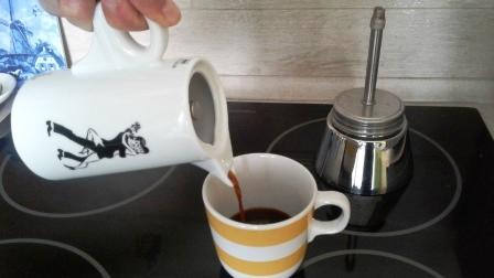Kawiarka z dolnym zbiornikiem ze stali nierdzewnej. Idealna na indukcję.