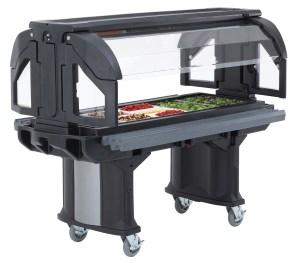 Cambro Versa Food Bar - salad bar for schools