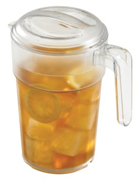 Cambro 34oz Pitcher: Self-Service Stackable Pitcher