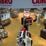 Cambro booth at NAFEM 2013