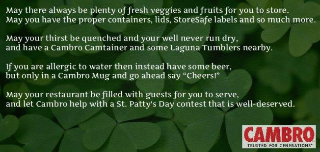 Cambro St Patrick Day 2013