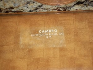 Cambro Trays - 40+ years