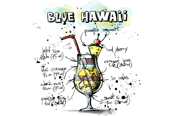 Blue Hawaii - Cambro Blog - Recipe