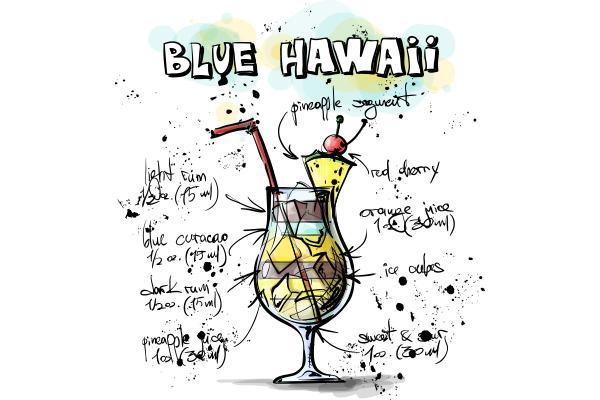 Blue Hawaii - Cambro Blog - Recipe