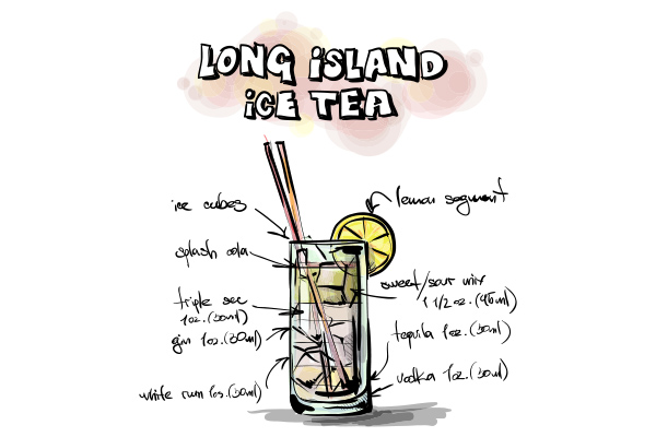Long Island Ice Tea - Cambro Blog - Recipe