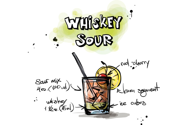 Whiskey Sour - Cambro Blog - Recipe