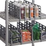 Shelf Divider w Camshelving closeup