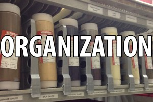 Shelf Dividers - organization