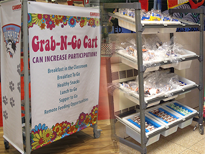 Flex Snack Cart - School Show 2014 - Cambro Blog