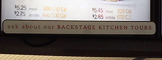Kitchen Tour sign - ChikFilA - Cambro Blog