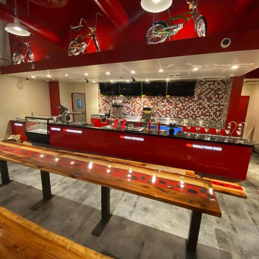 red whale coffee bar