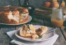 Cinnamon Caramel Apple Dutch Oven Money Bread On A Plate
