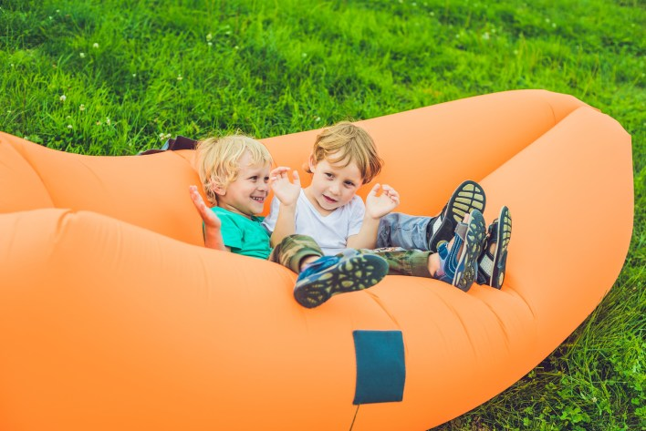 best inflatable lounger for camping