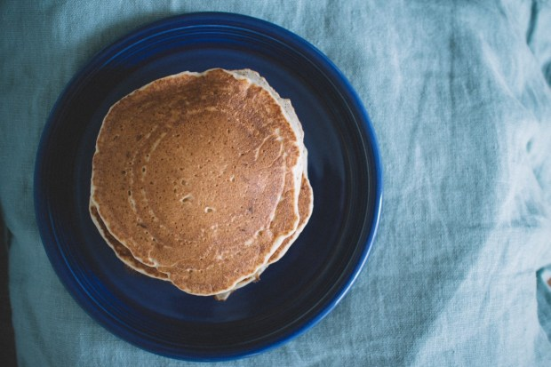 tasty fall camping recipes - pumpkin spice pancakes