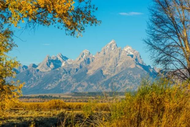 Grand Teton national park - Printable List of National Parks