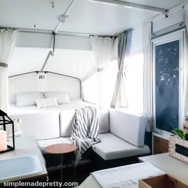 pop-up camper remodel ideas