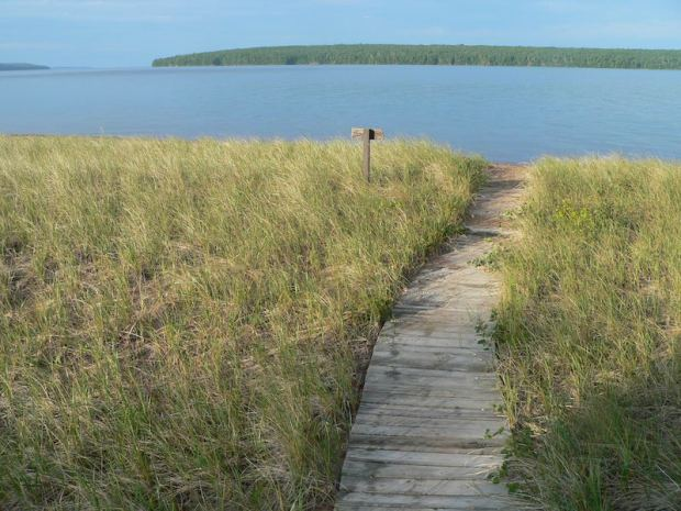 apostle islands camping - oak island