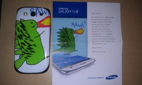 social media for customer service - Samsung