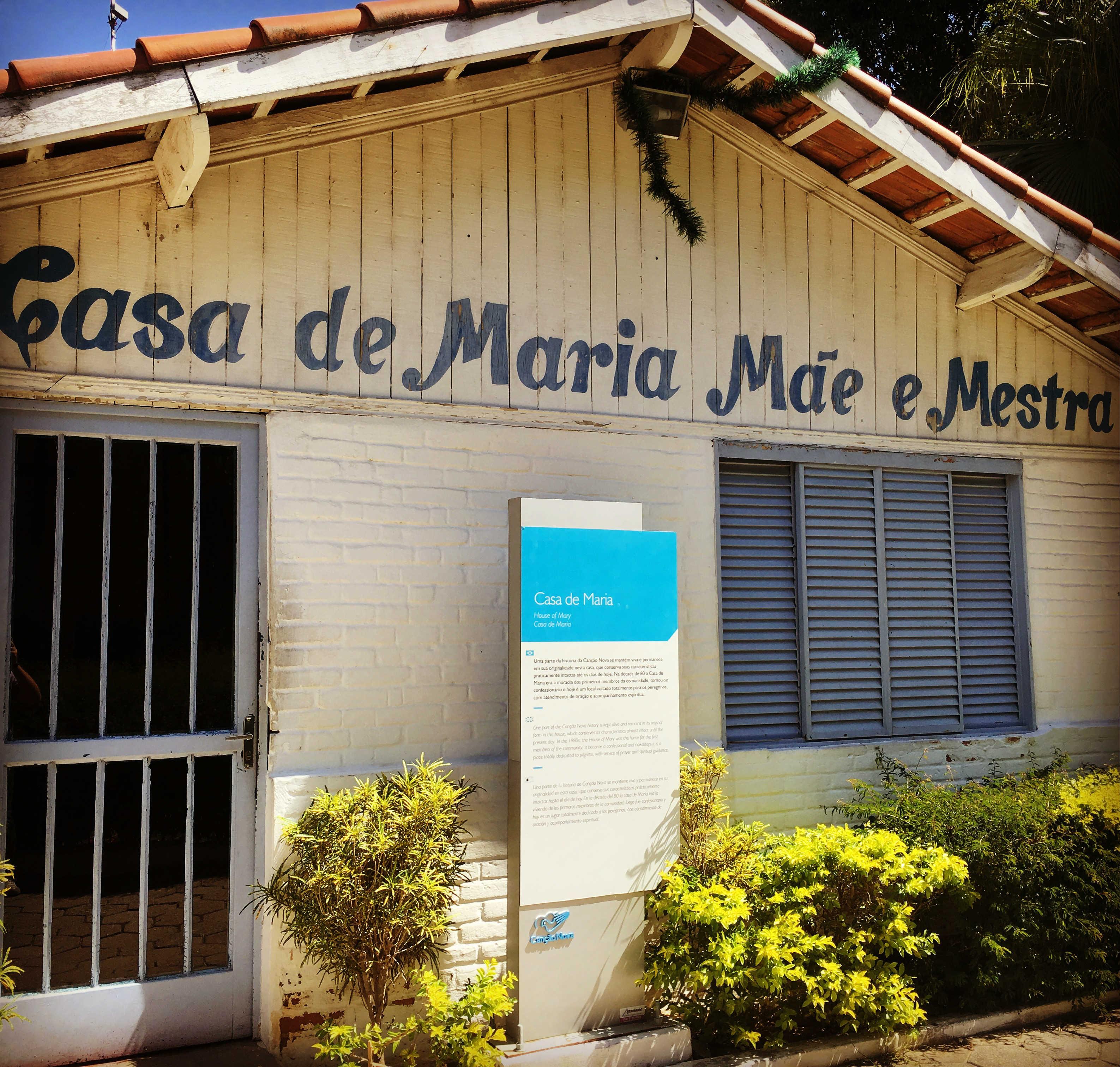 Casa de Maria Mae e Mestra