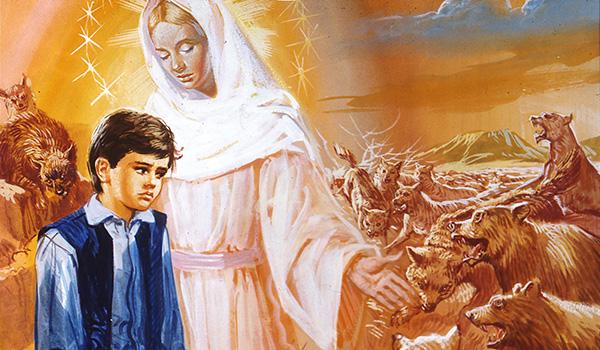 A consagração a Jesus por Maria como auxílio extraordinário para vencer os três inimigos da alma: a carne, o mundo e o Demônio.