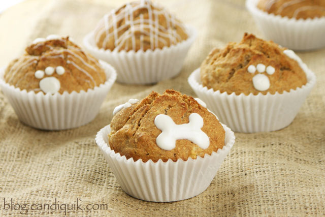 Apple Crunch Pupcakes