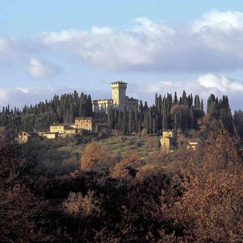 Castello del Trebbio visitare un castello