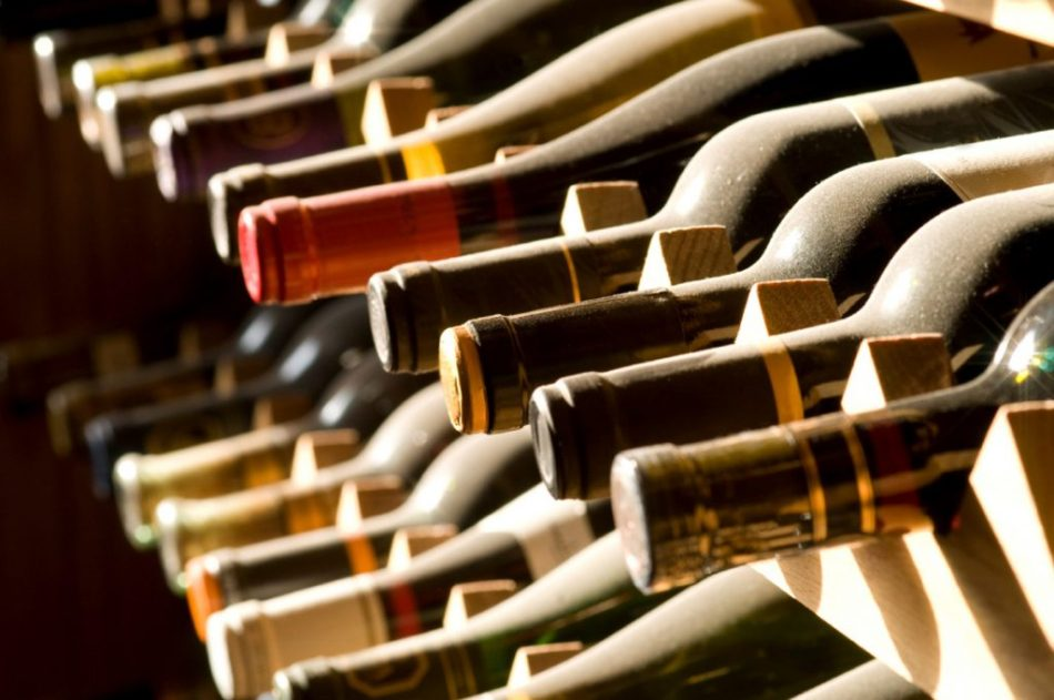 conservare vino orizzontale