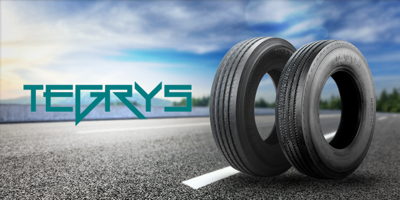 Tegrys: pneus para caminhões e ônibus