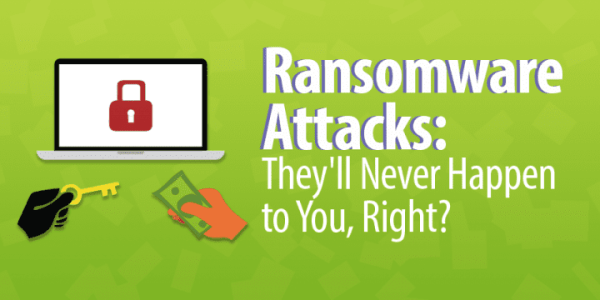 Ransomware Attacks: They'll Never Happen to You, Right?