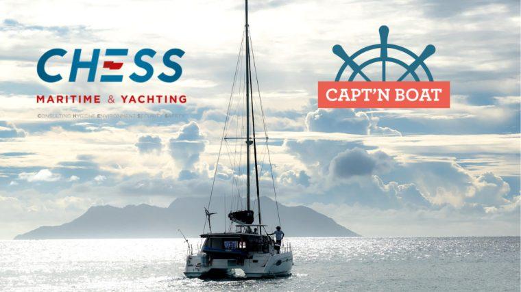 Nouvelle solution d'enrôlement exclusive Capt'n Boat X Chess Maritime