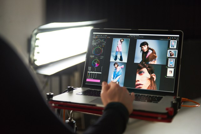 Shooting tethered with Capture One Pro