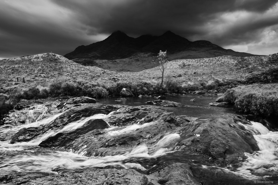 Hero Rain Clouds Over The Cuillin