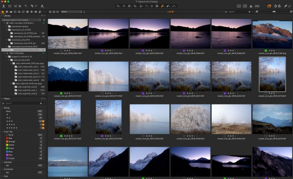 capture one raw photo editor changing it up with Capture One by Michael Clark using Fujifilm GFX100 auto level adjustment screenshot color workspace customization