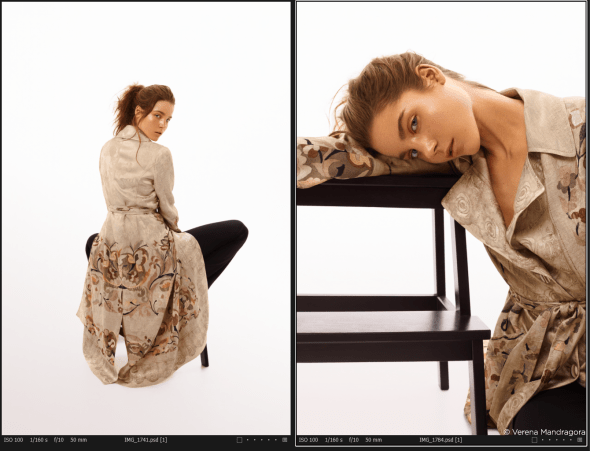 Capture one raw photo editor blogpost mareike keicher color harmonies monochromatic contact sheet after