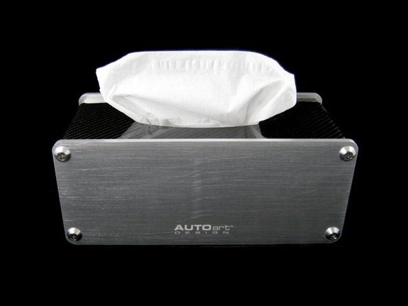 AutoART carbon fiber tissue box holder